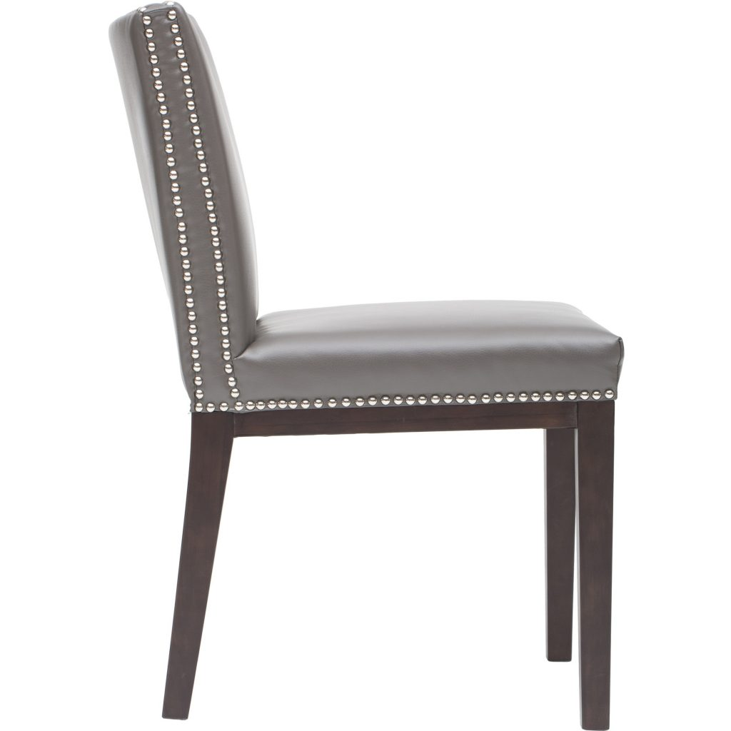 Dining Room Grey Leather Dining Chair Chairs Design Ideas Adorable