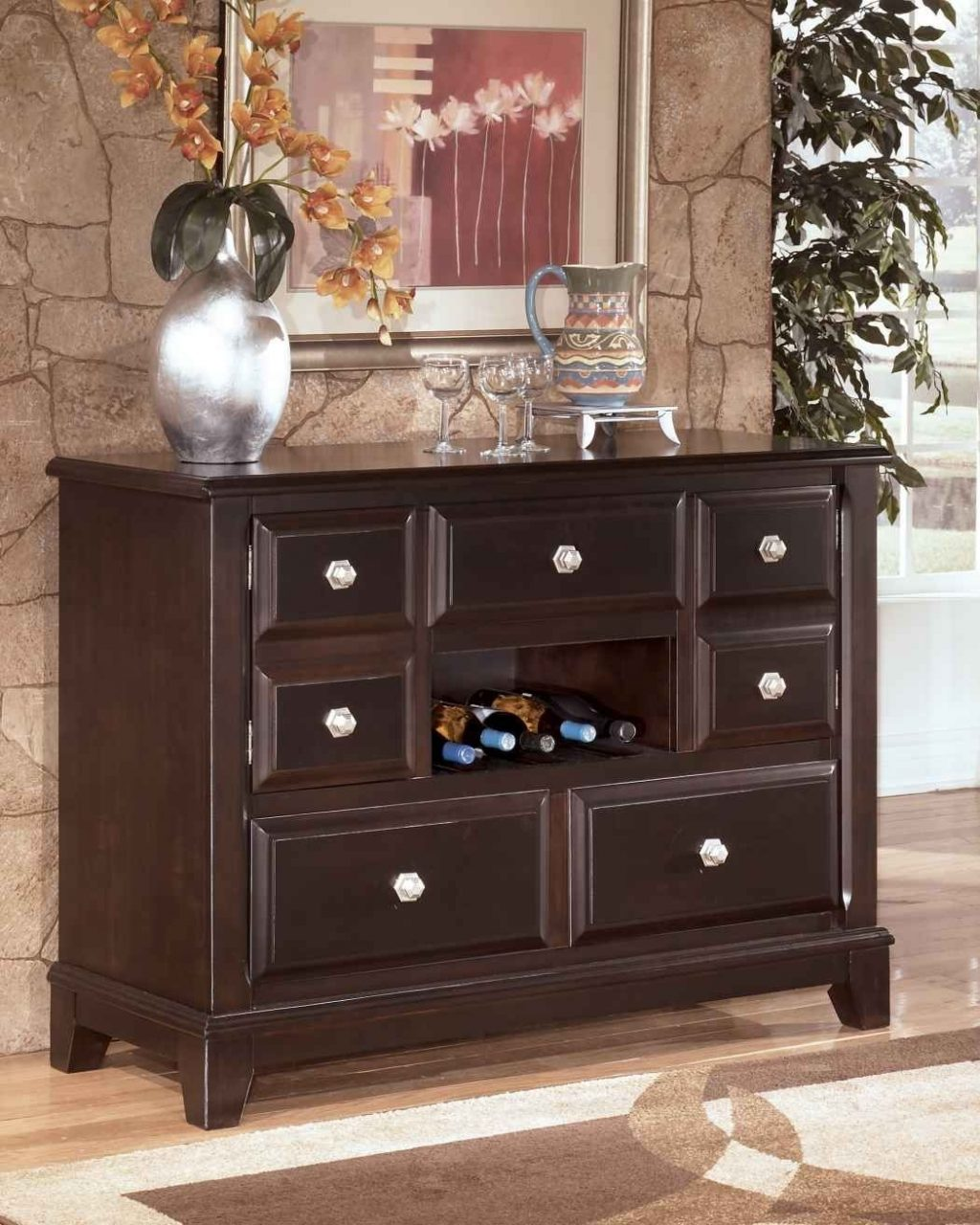 Dining Room Hutch Decorating Ideas Dining Room Decor Ideas And