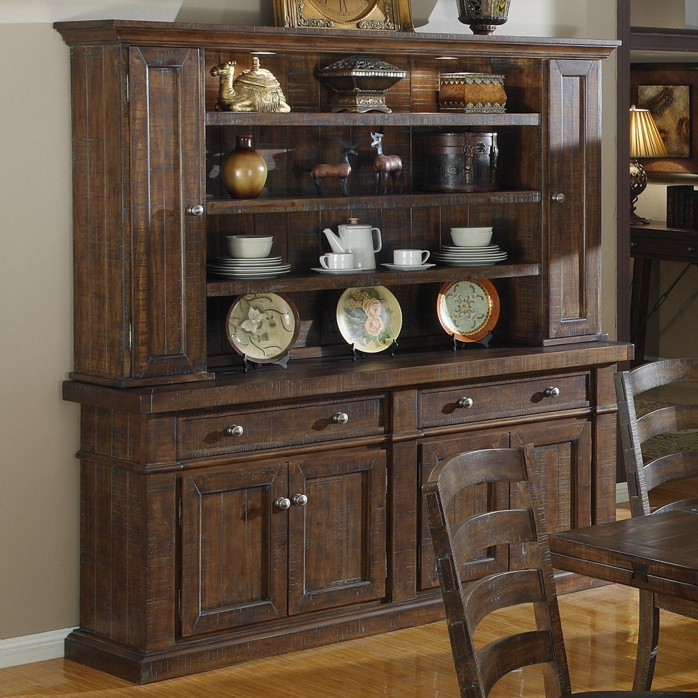 Dining Room Kitchen Credenza Hutch Black Sideboard Table Dining