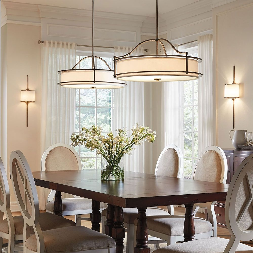 Dining Room Light Fixture Dining Room Height Brushed Nickel