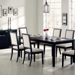 Dining Room Chairs Black Wood