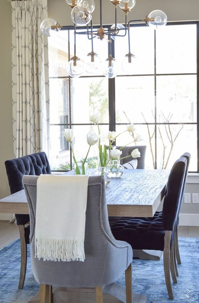 Dining Room Navy Dining Room Scintillating Blue Walls Pictures