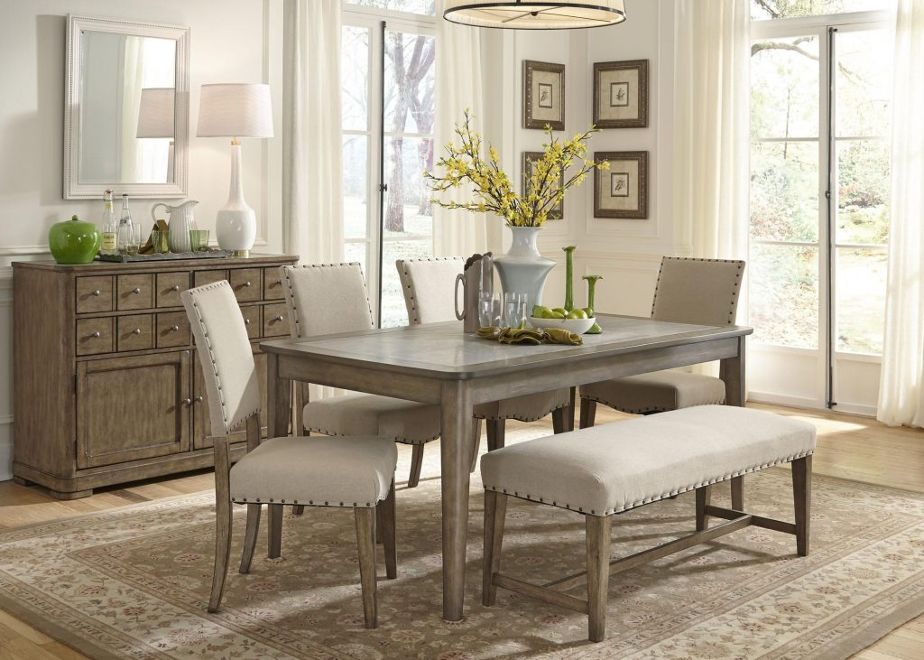 Dining Room New Design Contemporary Dining Rooms Table With Bench