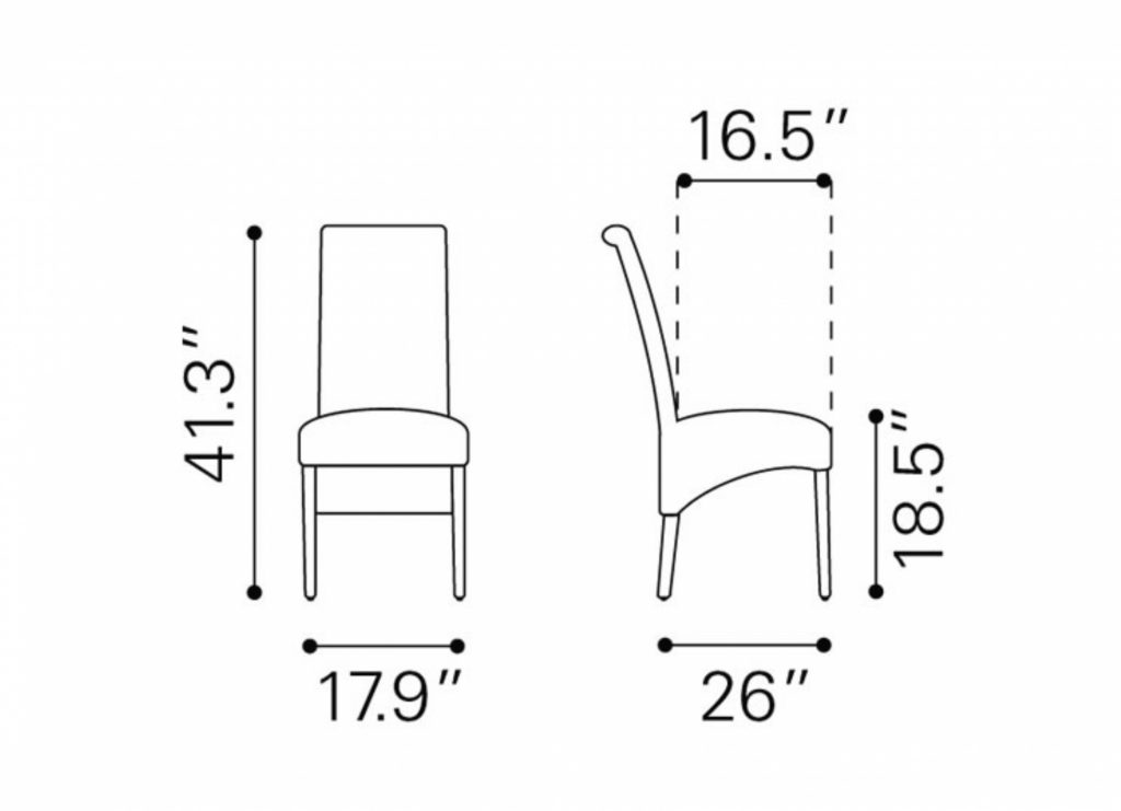 Dining Room Other Dining Room Chair Dimensions Typical Dining Room