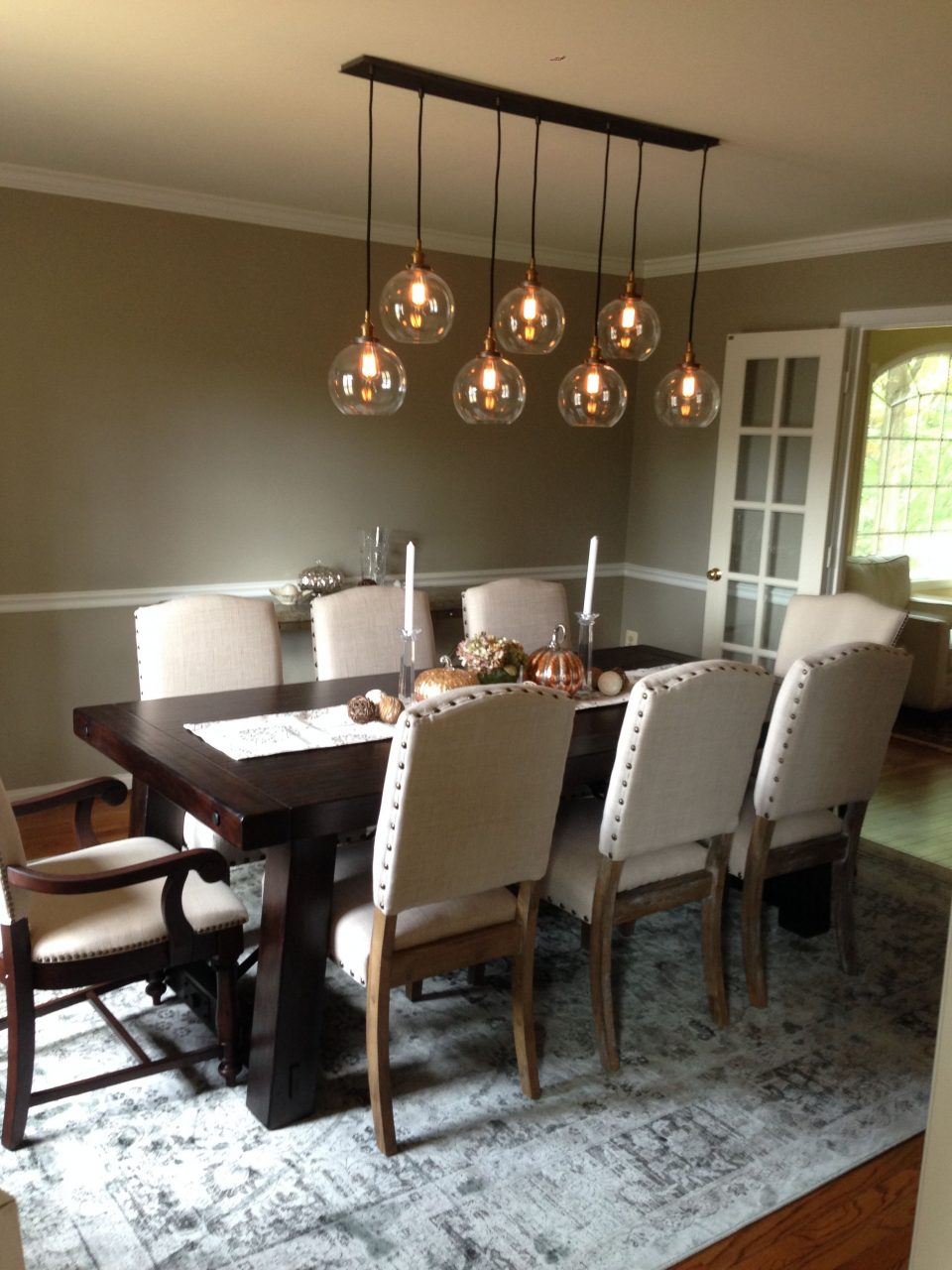 Dining Room Remodel Restoration Hardware 20th C Factory Filament