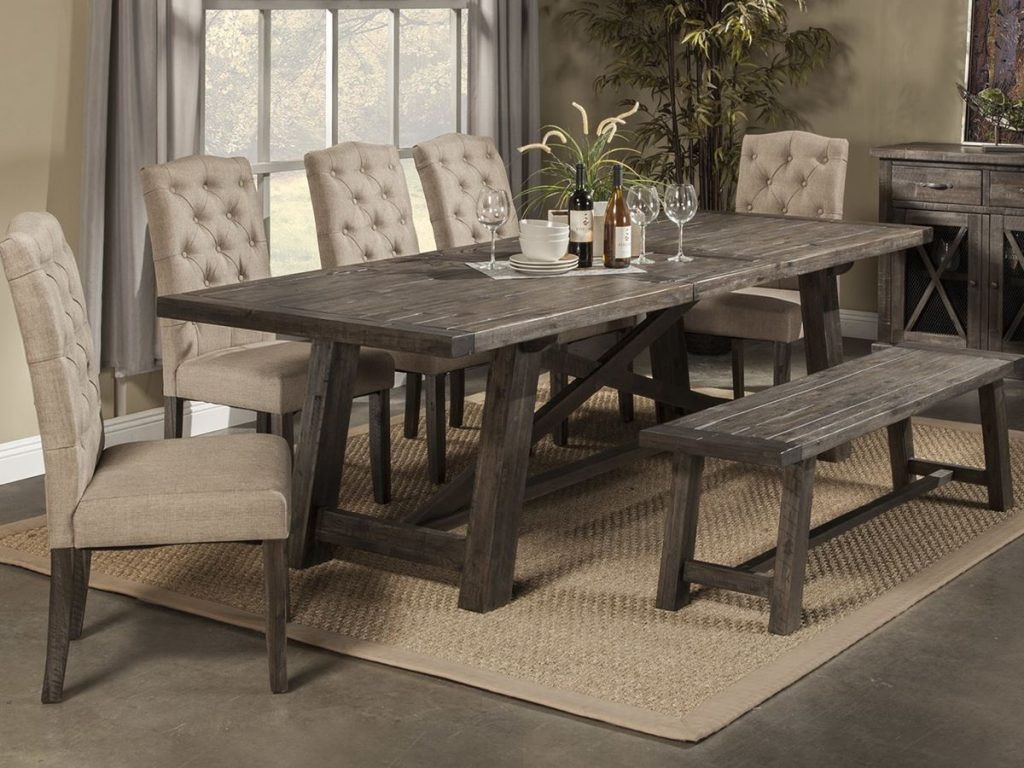 Dining Room Rustic Dining Room Chairs Chic Modern Table And Tables