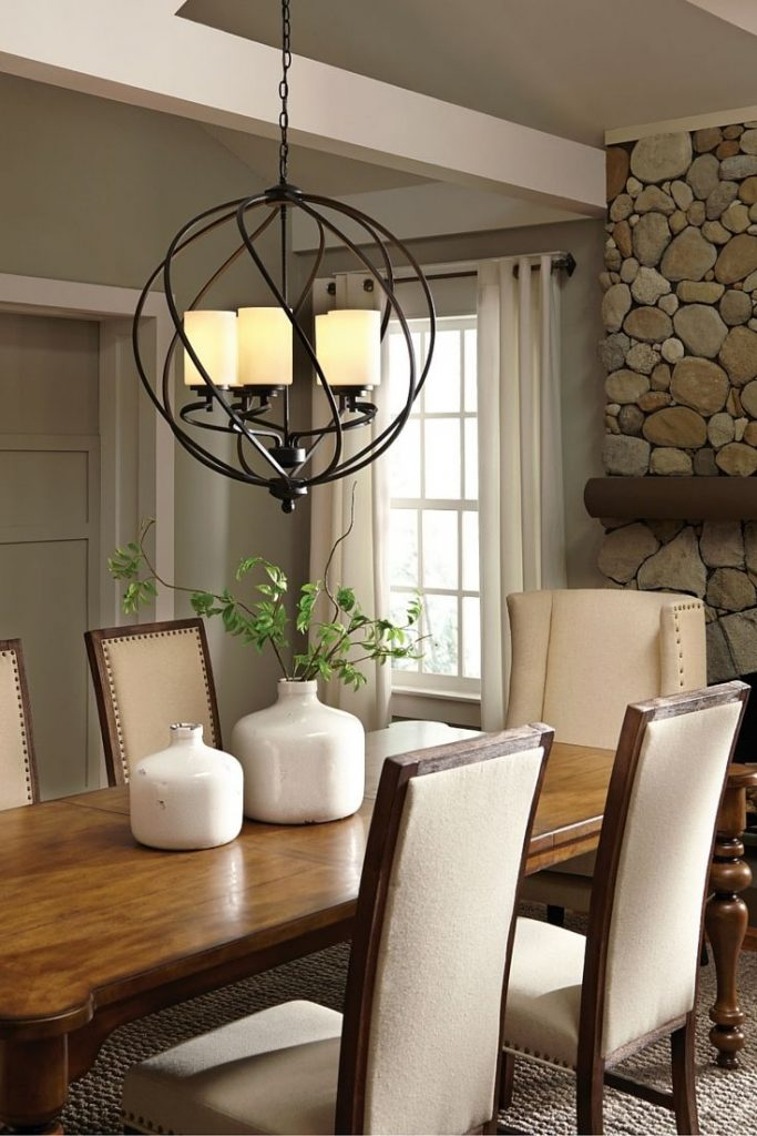 Dining Room Rustic Dining Room Tableing Fixture Height Ideas