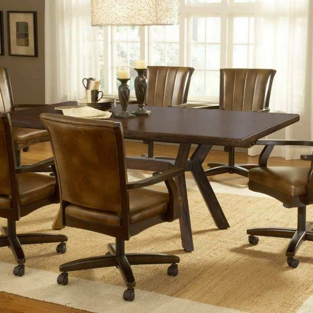 Dining Room Sets With Rolling Chairsdining Room Sets With Caster