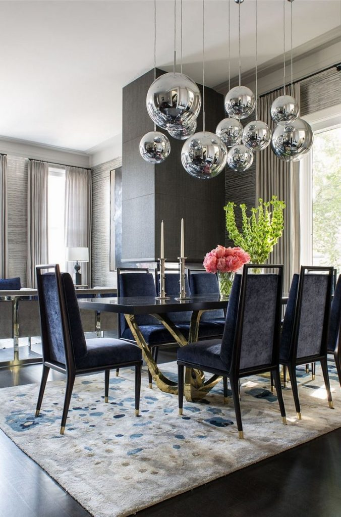 Dining Room Surprising Best About Blue Dining Rooms On Pinterest