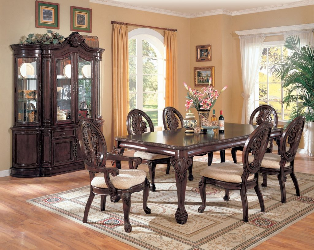 Dining Room Table And Cabinet Bettrpiccom Inspirations Including