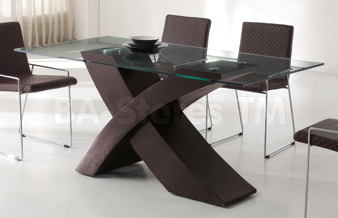 Dining Room Table Pedestals Within Glass Bases Throughout Base Layjao