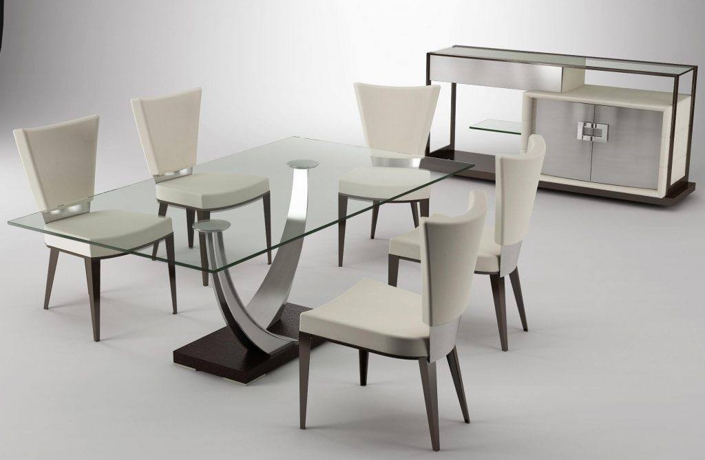 Dining Room Table Sets Dining Table And 6 Chairs Glass Table And