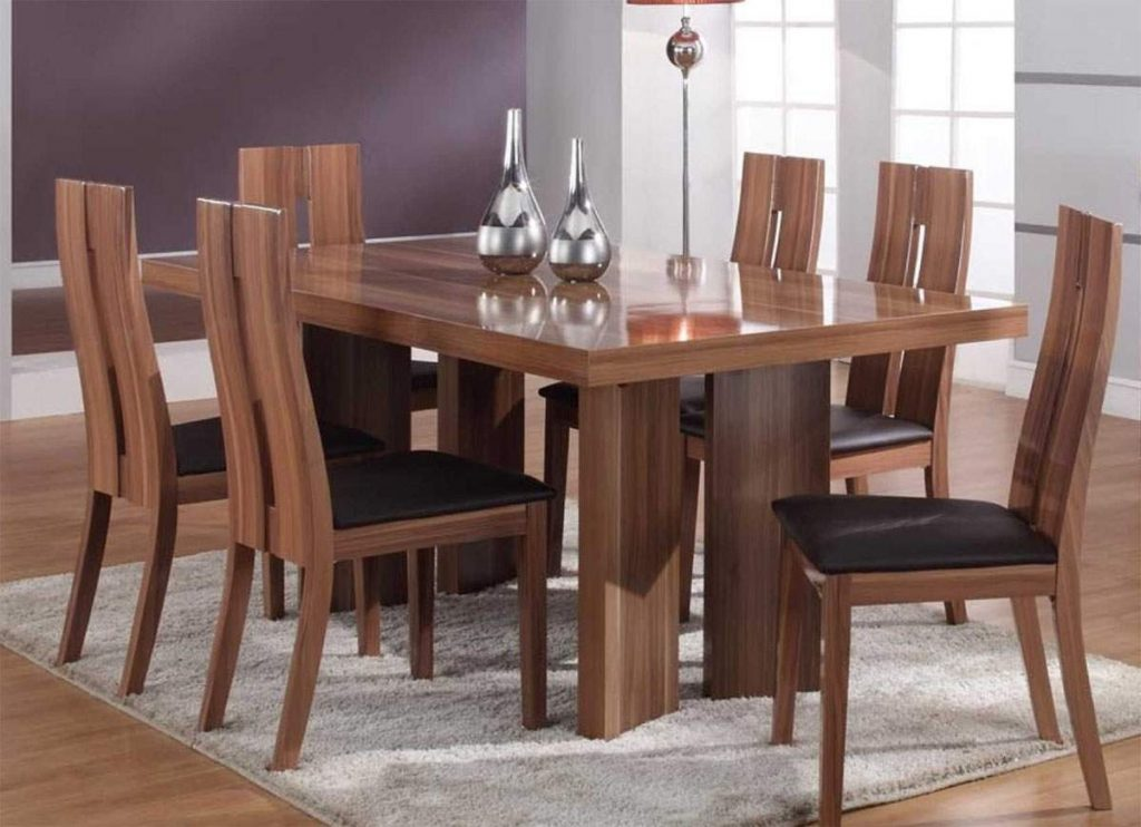 Dining Room Table Wood Within Luxury Modern Kitchen 5 Round With
