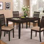 Dining Room Tables Dark Wood Brandt Dark Cherry Wood Dining Table