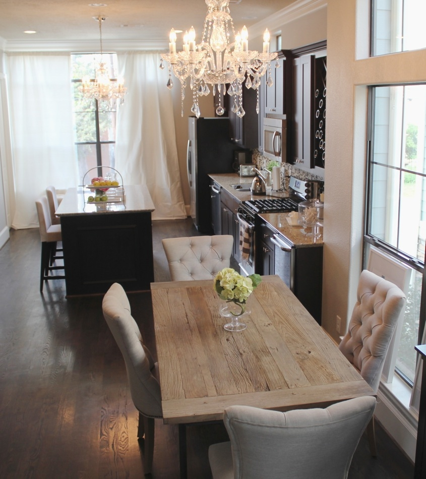 Dining Room Tables Restoration Hardware Of With Home Updates