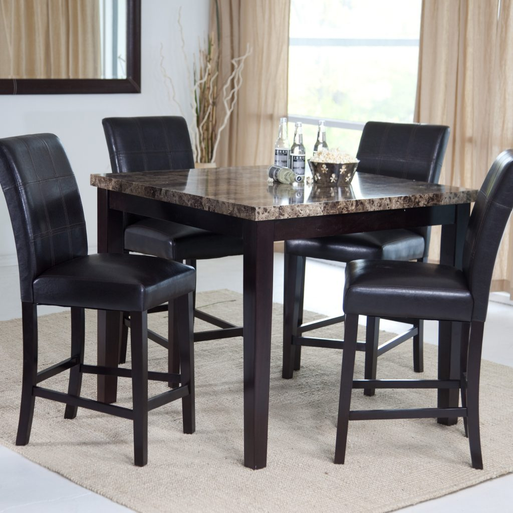 Dining Room Tall Dining Room Sets Nice Table Black And Chair Set