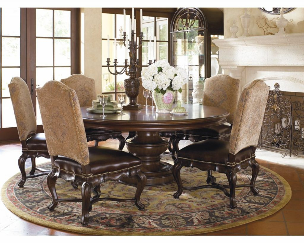 Dining Room Thomasville Furniture Wood Sets Tables Excellent Table