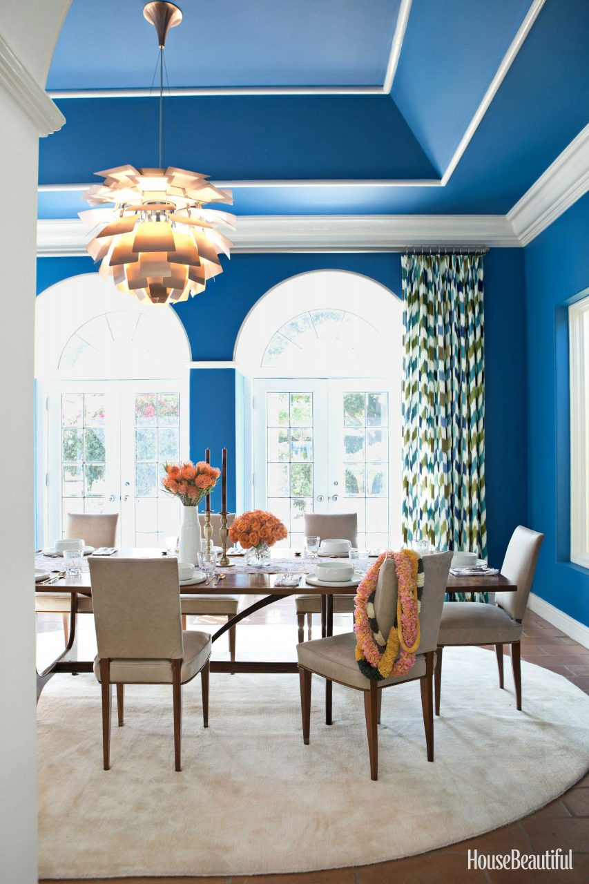 Dining Room Wall Color Suggestions Suitable With Dining Room Wall