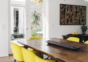 Dining Room Chairs Yellow
