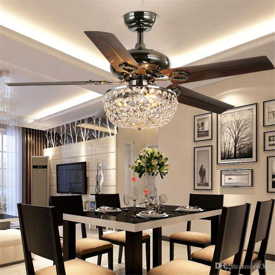 Dining Room With Ceiling Fan Light Ideas Trim 2018 And Incredible