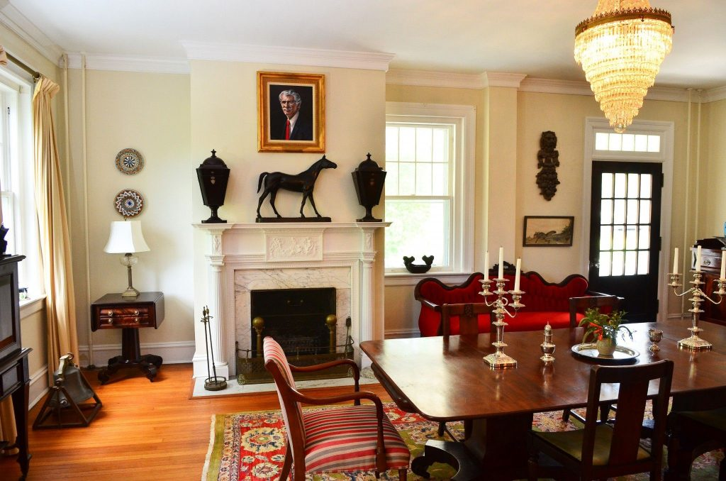 Dining Rooms Fireplaces