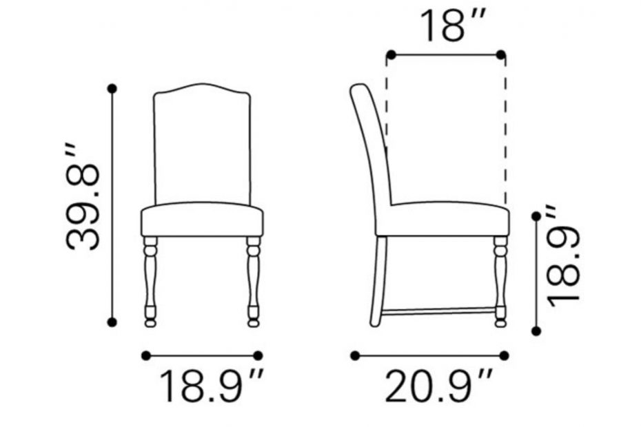 Dining Table Chair Dimensions Images 311078 Pinterest