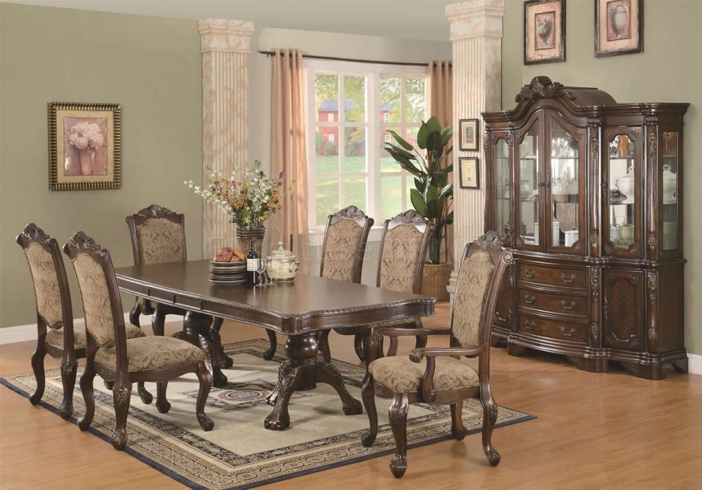 Dining Table Set Traditional Unique Set Italian Lacquered Dining Set
