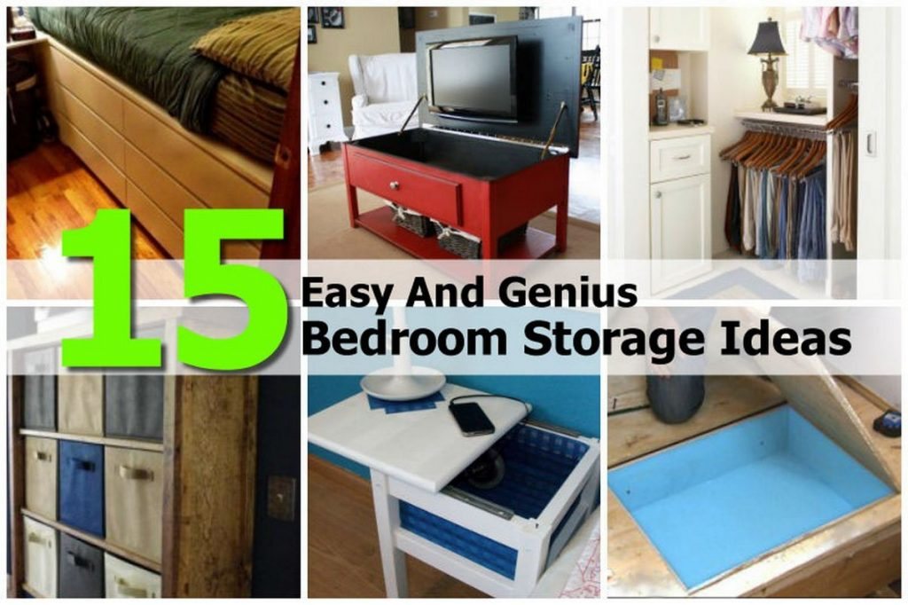 Diy Bedroom Storage Ideas Photos And Video Wylielauderhouse