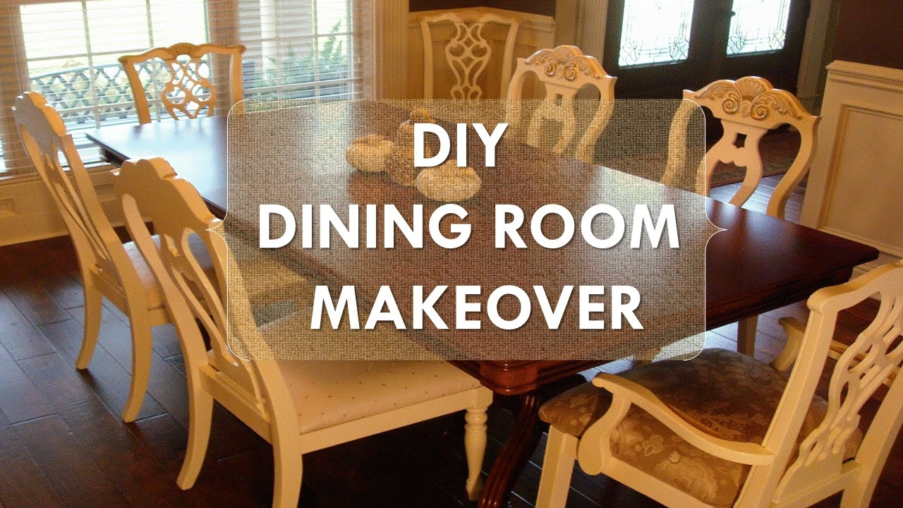 Diy Dining Room Makeover Just Chalk Paint Fabric Youtube – layjao