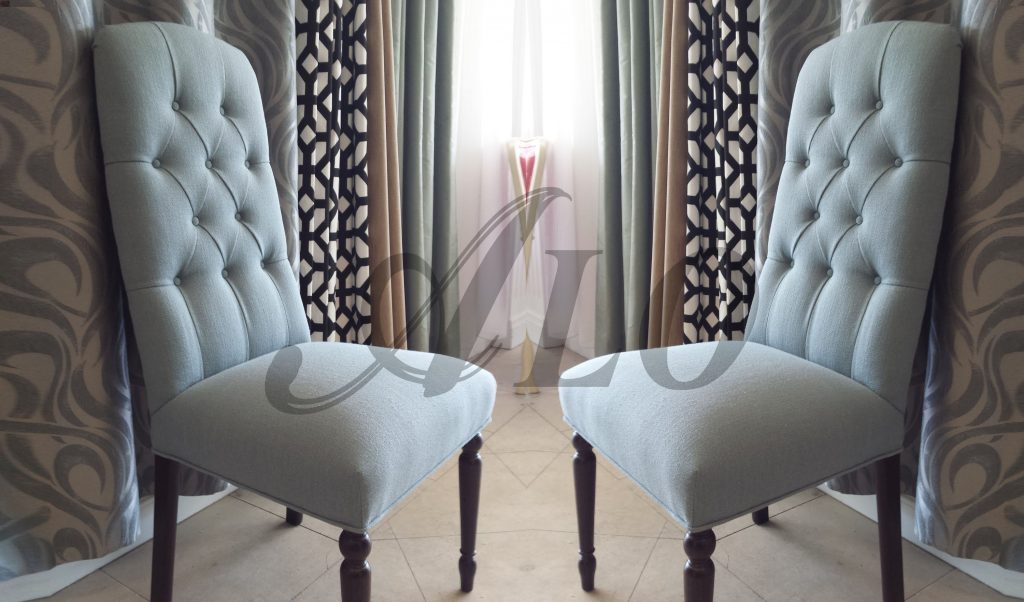 Diy How To Reupholster A Dining Room Chair With Buttons Alo