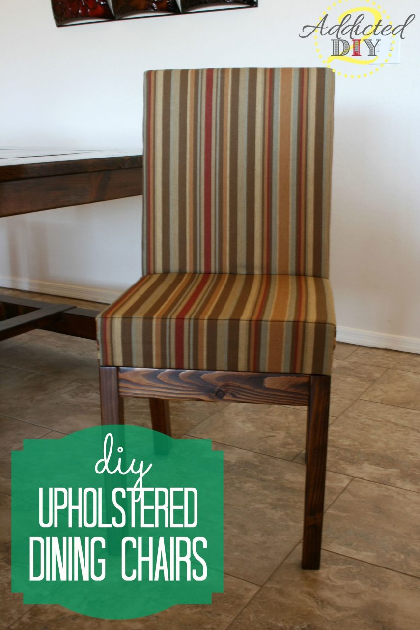 Diy Upholstered Dining Chairs Pinterest Upholstered Dining