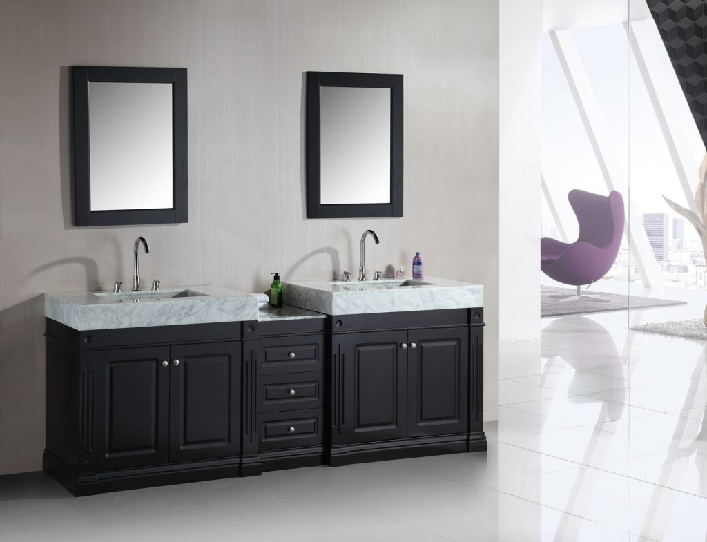 Double Sink Bathroom Vanity Clearance Intended For 72 Inch Top