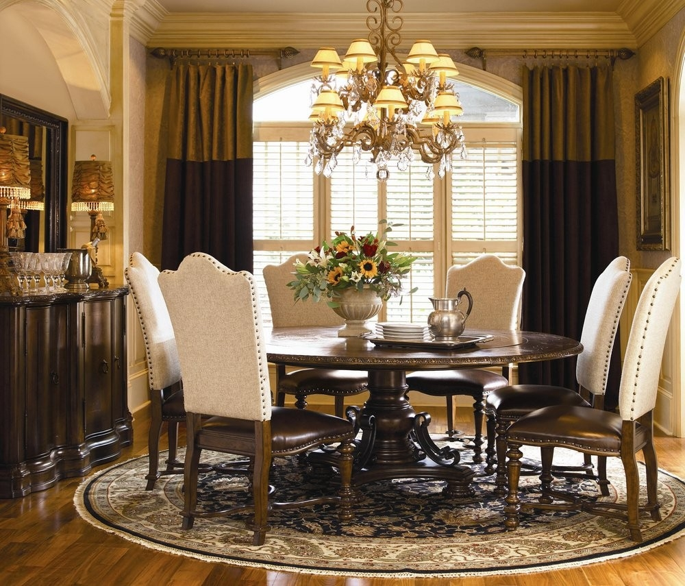 Elegant Round Dining Room Tables Escobhotelgaudimedellinco