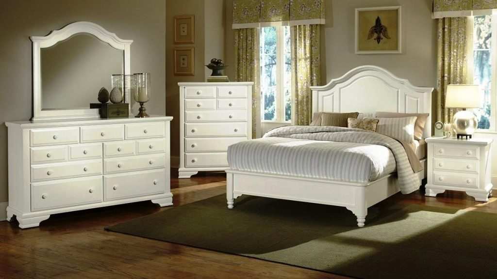 Elegant White Bedroom Furniture For Adults Editeestrela Design