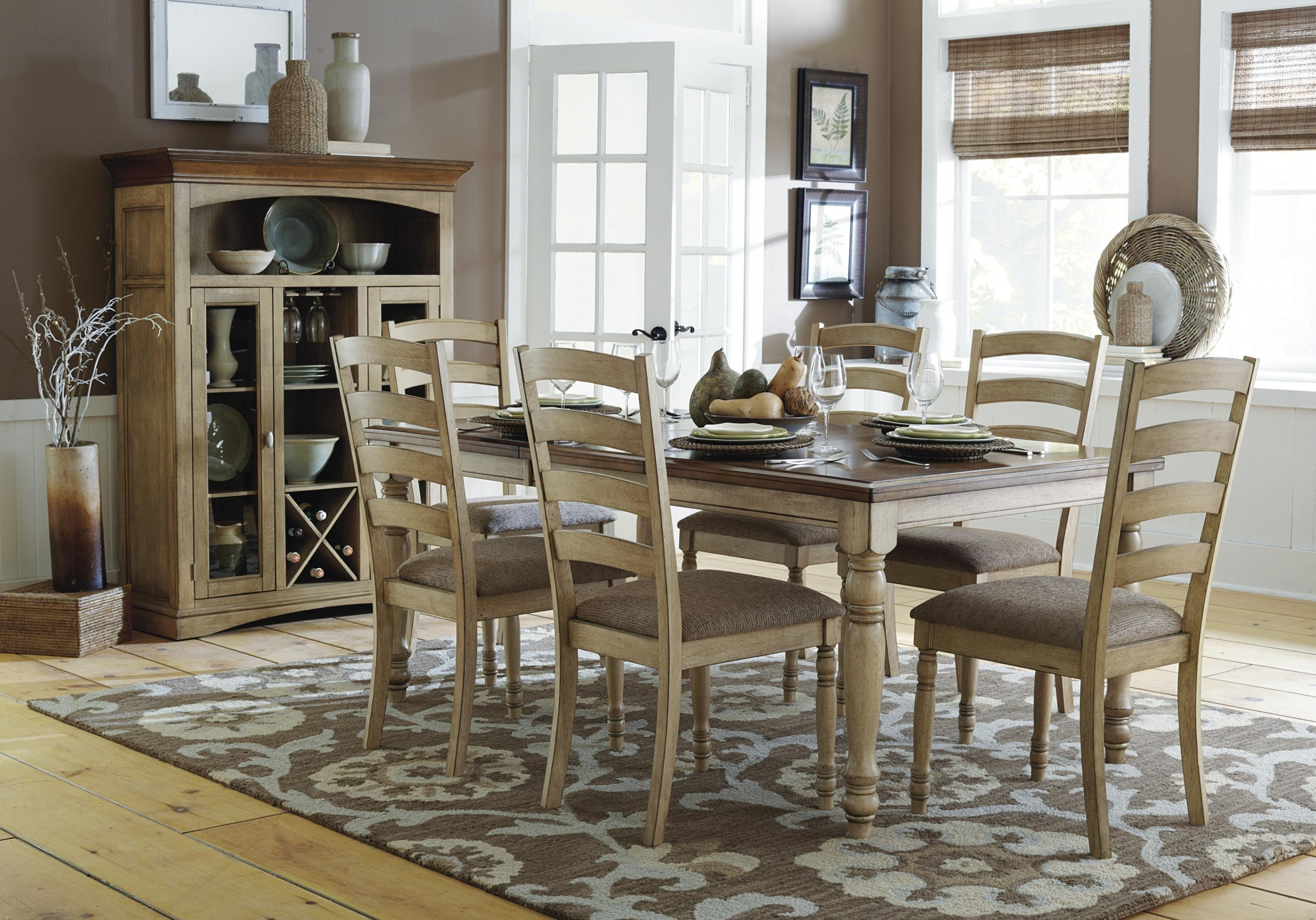 Emejing Country Style Dining Room Chairs Images Dining Side Chairs