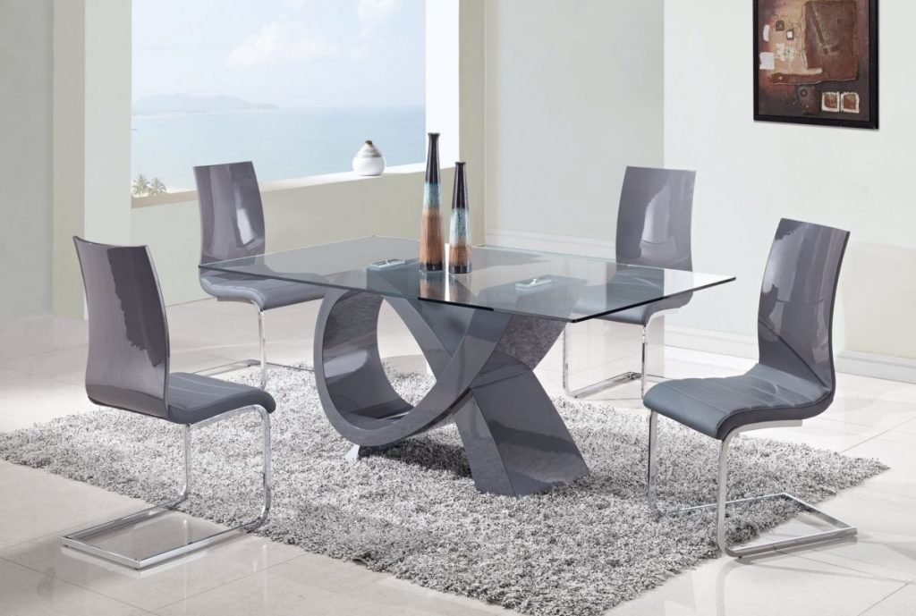 Engaging Modern Dining Table Set 16 Casual Furniture Room Chair