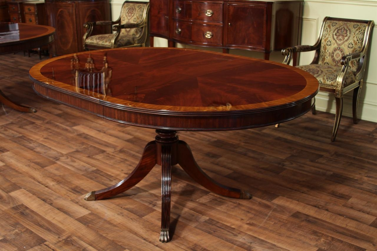 Excellent Round Pedestal Dining Table With Leaf Ideas Cole Papers Layjao