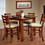 Exeter High Dining Set Made In Usa Homesquare Furniture Easton Pa