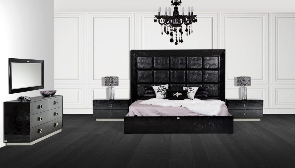 Exquisite Modern Bedroom Sets 23 Eri All White Furniture Canada