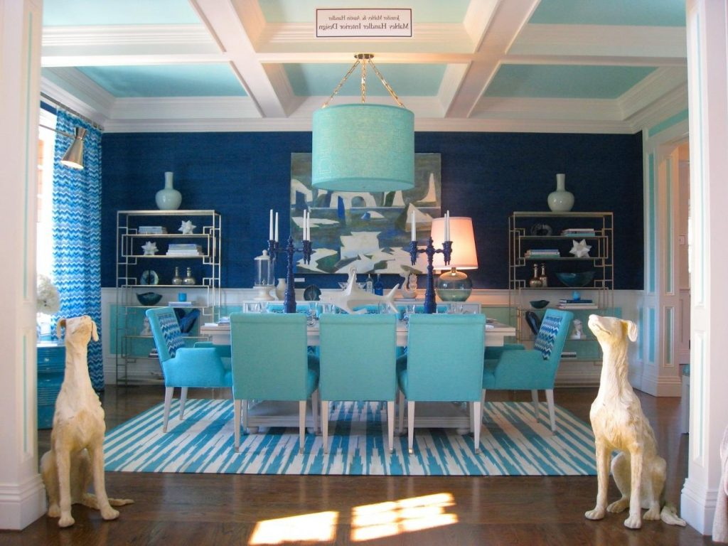 Extraordinary Light Blue Dining Room Chairs Property In Bedroom