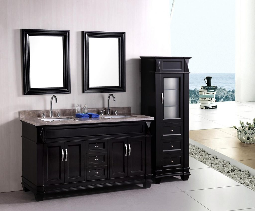 Fabulous Sink Bathroom Vanities Black Cabinet Bathroom Vanity With