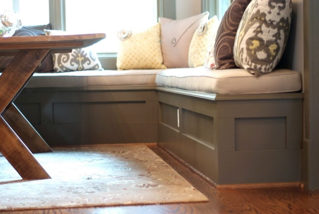 Fascinating Kitchen Nook Bench With Storage 11 Top Awesome Dining