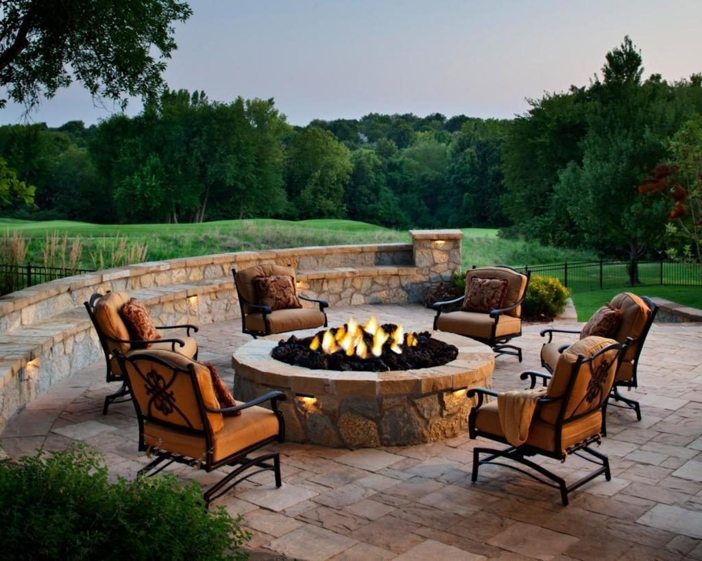 Firepits Interesting Fire Pit Patio Furniture Full Hd Wallpaper
