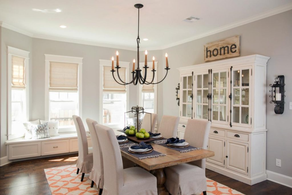 Fixer Upper Dining Rooms Regarding Pinterest Joanna Gaines Room