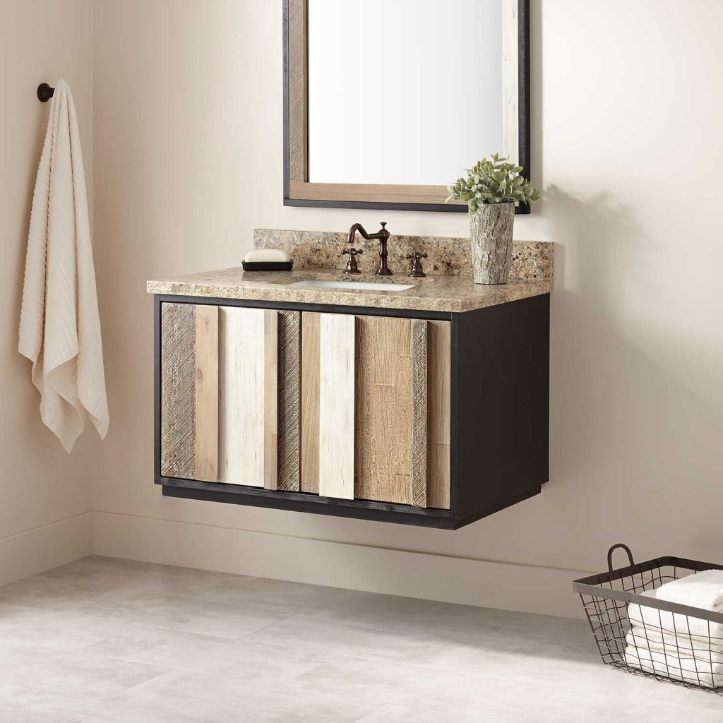 Floating Bathroom Vanities Amazing Vanity Signature Hardware Within