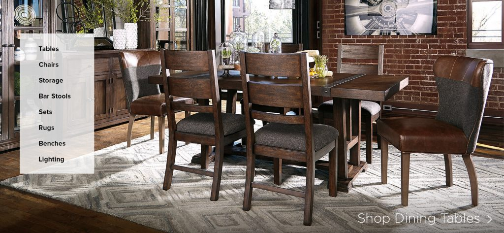 Formal Dining Room Sets Rustic Dining Room Chairs Ashley Furniture
