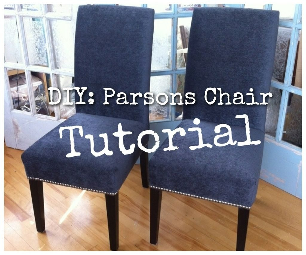 Foxy Recover Dining Room Chairs At Diy Re Upholster Your Parsons