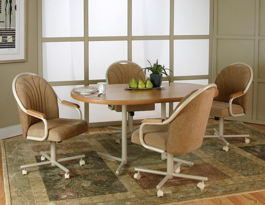 Fresh Dining Room Tables And Chairs With Casters 17600
