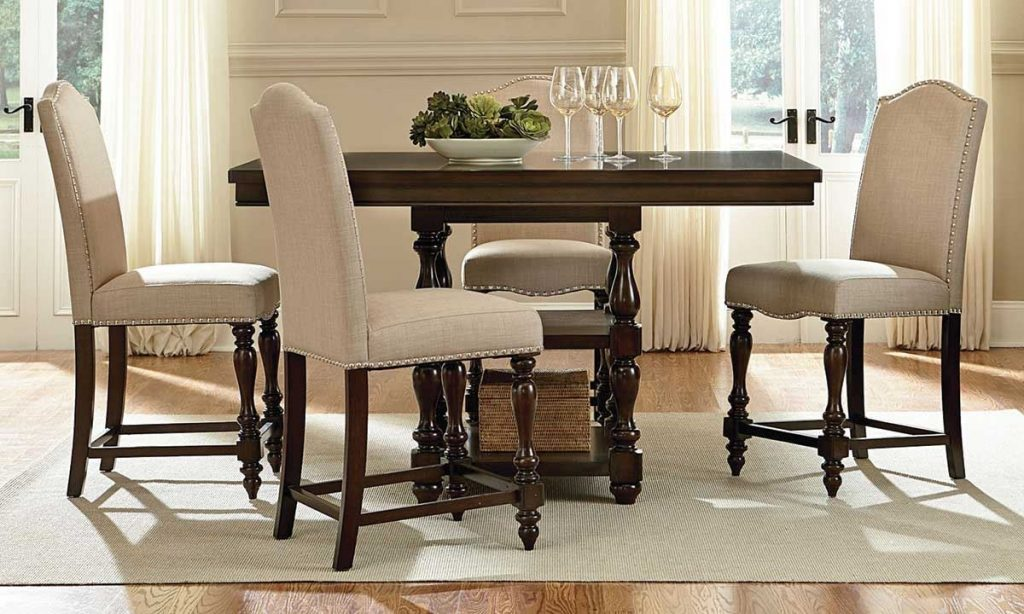 Furniture High Top Dinette Sets Glass Counter Height Dining Sets