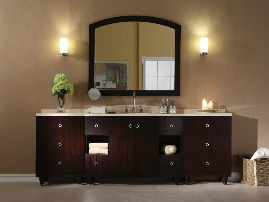 Furniture Highly Durable And Long Lasting Bathroom Vanities Menards